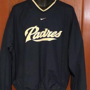 Vintage EUC Nike Team Windbreaker San Diego Padres